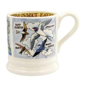 Emma Bridgewater Kingfisher and Insect Eaters 1/2 Pint Mug