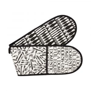 Emma Bridgewater Knives & Forks Double Oven Glove