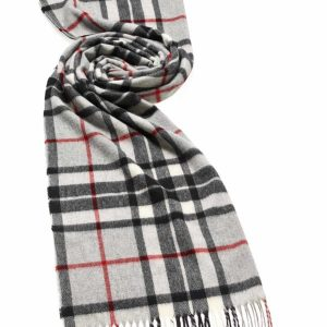 Bronte by Moon Tartan Stoles - Grey Thompson