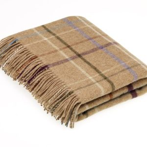 Litton Camel Country House Throw – Bronte by Moon