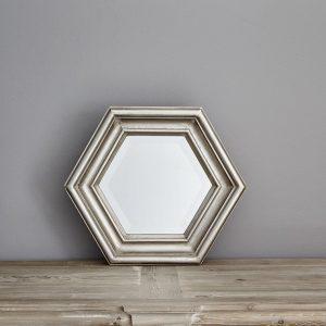 Hexagonal Mirror by Finch & Lane Interiors