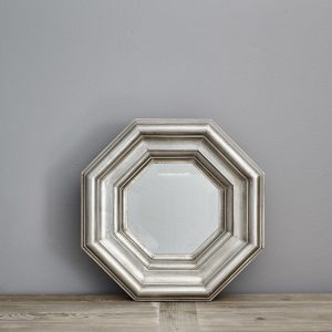 Wide Octagonal Signature Mirror by Finch & Lane Interiors
