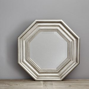Fine Octagonal Signature Mirror by Finch & Lane Interiors