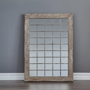 Iron Grid Mirror