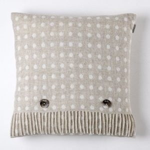 Spot Cushion - Beige - Bronte by Moon