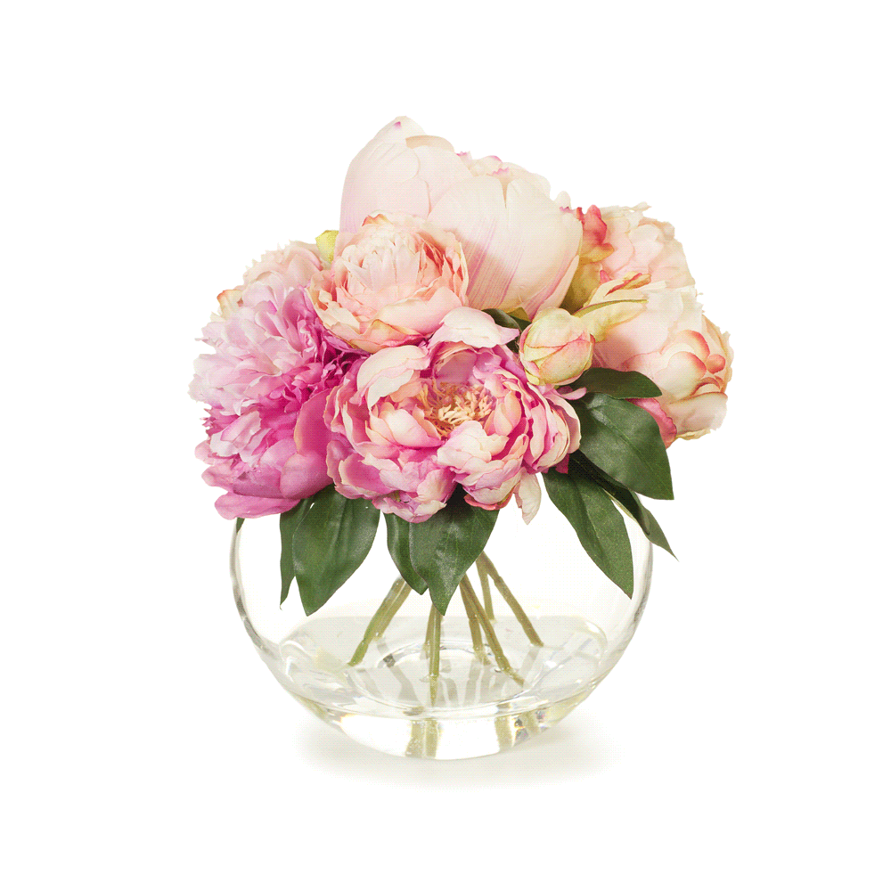 Artificial Flowers Peony Bouquet  sc 1 st  Finch \u0026 Lane : artificial flowers in vase - startupinsights.org