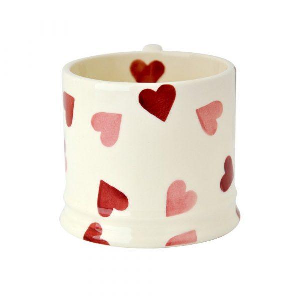 Pink Hearts Baby Mug