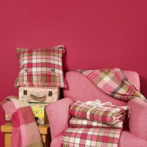 Pink & Natural Cushion - Bronte by Moon