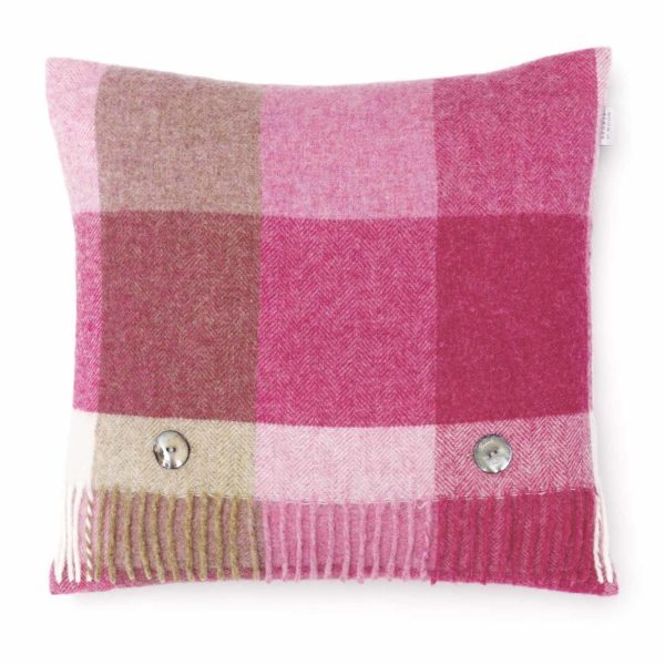 Pink & Natural Rome Cushion - Bronte by Moon