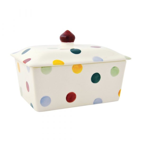 Emma Bridgewater Polka Dot Small Butter Dish
