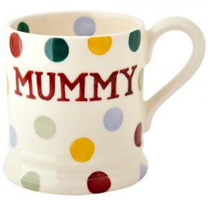 Polka Dot Mummy Half Pint Mug