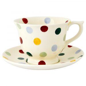 Emma Bridgewater Polka Dot Teacup & Saucer