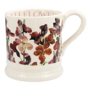 Emma Bridgewater Red Wallflowers Half Pint Mug