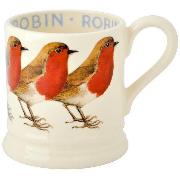 Emma Bridgewater Robin Half Pint Mug