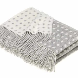 Spot Throw (Grey) - Bronte by Moon