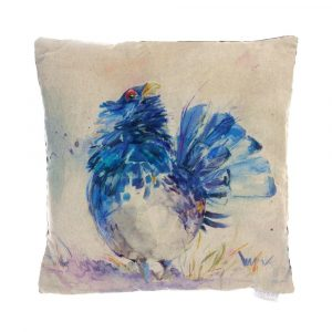Sarastro Capercaillie Cushion made in Scotland