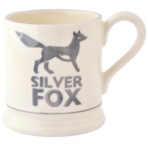 Emma Bridgewater Silver Fox 1/2 Pint Mug