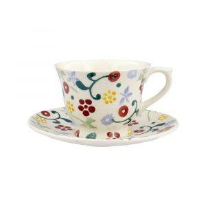 Emma Bridgewater Spring Floral Small Teacup & Saucer