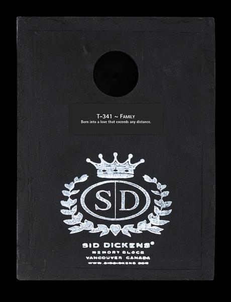 Sid Dickens Family Memory Block