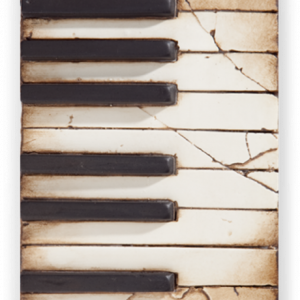 Sid Dickens Piano Keys Memory Block with Gift Box