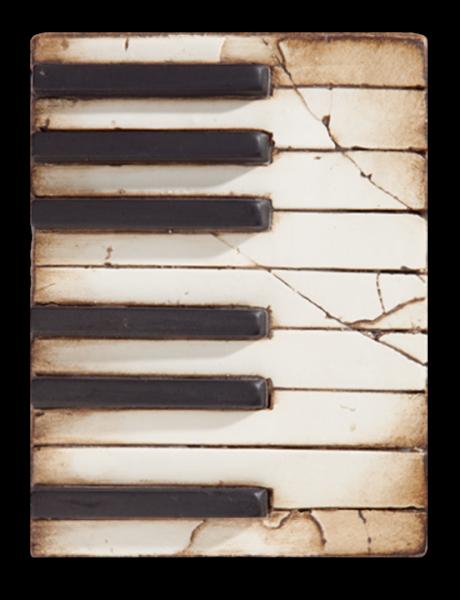 Sid Dickens Piano Keys Memory Block with Gift Box