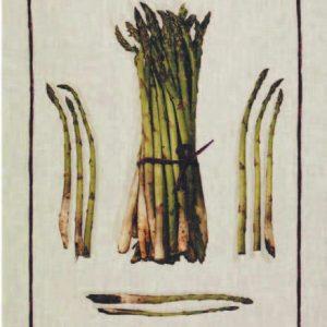 Asparagus Italian Linen Tea Towel