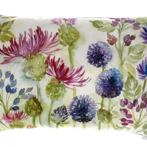 Thistle White Cushion
