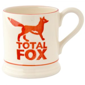 Emma Bridgewater Total Fox 1/2 Pint Mug