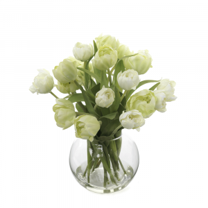 Artificial Flowers Tulips in Vase