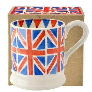 Emma Bridgewater Union Jack Half Pint Mug (Gift Box)