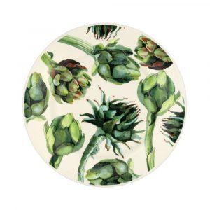"Emma Bridgewater Vegetable Garden Artichoke 8 1/2"" Plate"