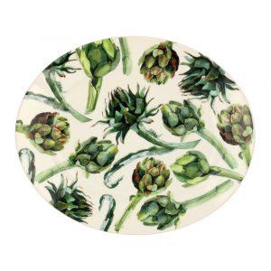 Emma Bridgewater Vegetable Garden Artichoke Medium Platter