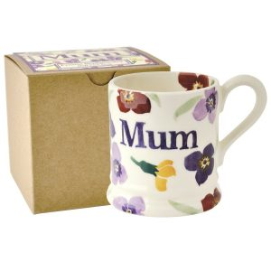 Emma Bridgewater Wallflower Mum Half Pint Mug (Gift Box)