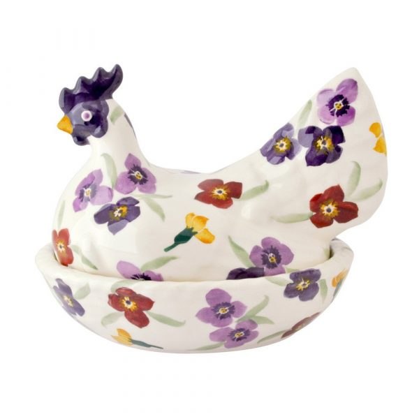 Emma Bridgewater Wallflower Hen On Nest