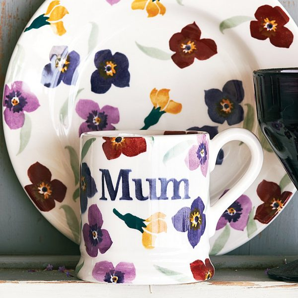 Wallflower Mum Half Pint Pint Mug (Gift Box)