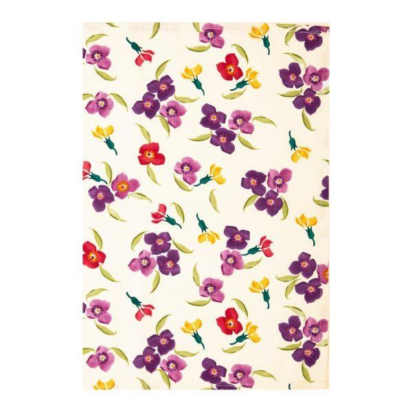 Emma Bridgewater Wallflower & Polka Dots Tea Towel - Pack of Two