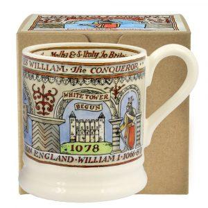 Emma Bridgewater William the Conqueror 1/2 Pint Mug