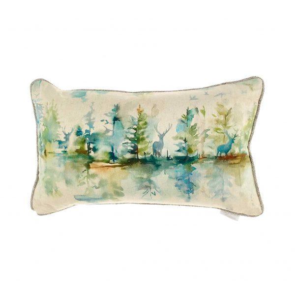 Wilderness Topaz Cushion