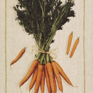 Carrots Italian Linen Tea Towel