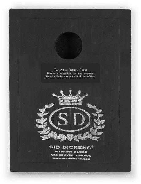 Sid Dickens French Crest with Gift Box
