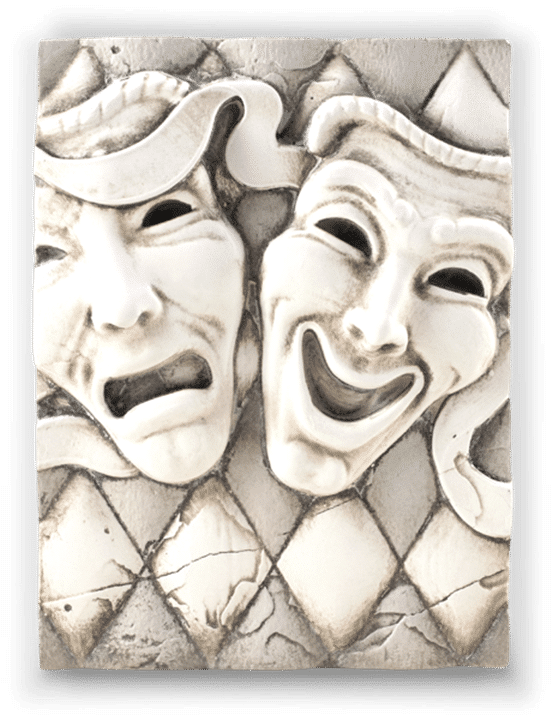 Sid Dickens Comedy & Tragedy Memory Block