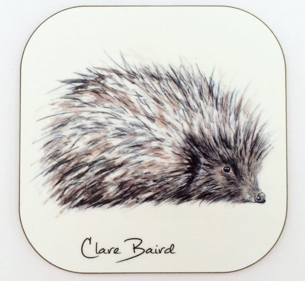 Hedgehog Coaster by Clare Baird