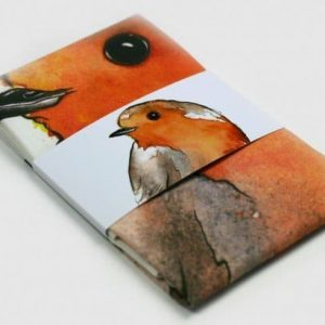 Robin Tea Towel by Clare Baird