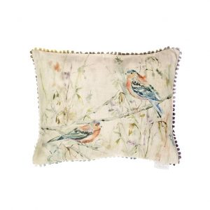 Chaffinch Cushion Made in Scotland