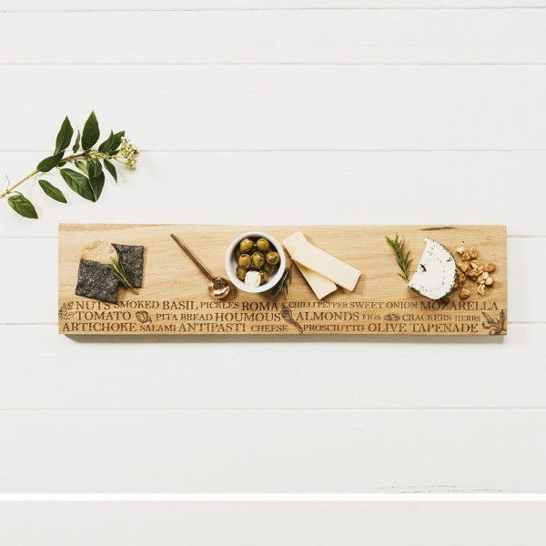 Antipasti Oak Large Serving Platter - Scottish Oak