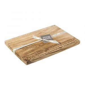 Cheese Serving Board - Scottish Oak 2