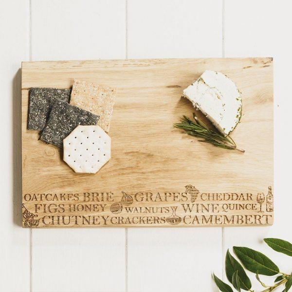 Cheese Serving Board - Scottish Oak