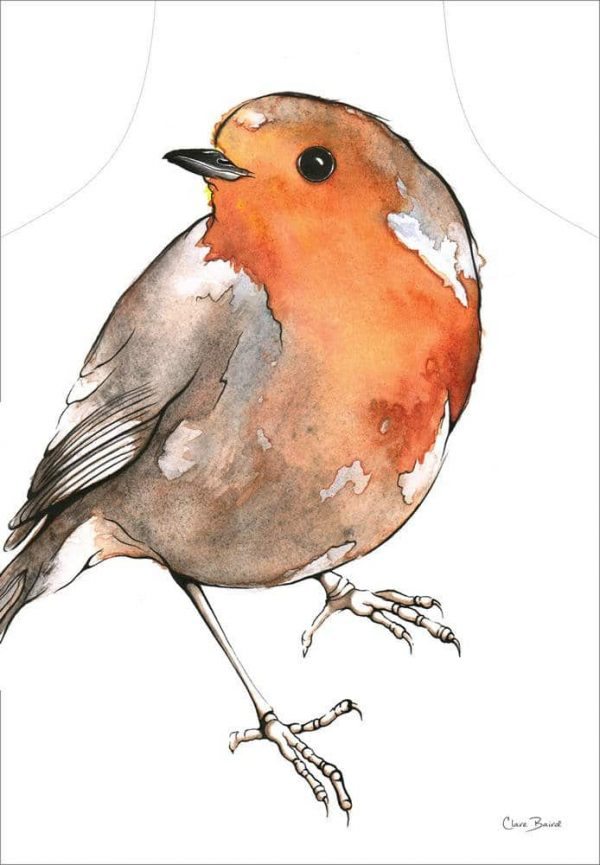 Robin Apron - by Clare Baird