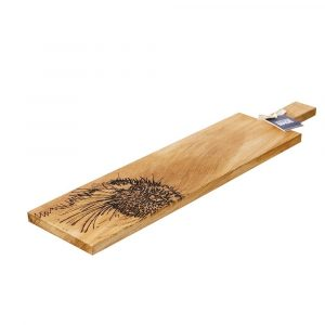 Long Otter Oak Serving Paddle - Scottish Oak