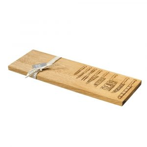Oak Knives Medium Serving Platter - Scottish Oak